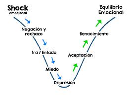 Shock emocional curva